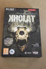 KHOLAT [PC] SPECIAL EDITION + POSTER + COMICS + SCORE + BUTTON - New BOX STEAM
