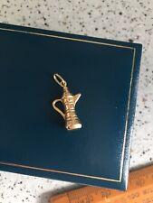 18ct - 750 Gold  Charm Pendant Coffee Pot 0.77