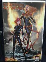 Captain Marvel 1 2019 NM Jay Anacleto Variant GGA Black Widow VARIANT BLOWOUT