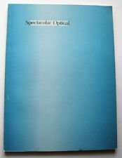Spectacular Optical 1998 Cont. Art Kathy Acker Jean Baudrillard Slavoj Zizek