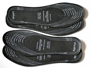 Anti Odour Shoes Insoles 2 x Pair Men Women Prevent Smelly Feet Cut to Size 3-11