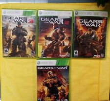 Xbox One Compatible Gears of War 1+2+3+ Judgement+manual