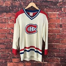 Incredible Vintage Montreal Canadiens NHL Classic Jersey Uniform