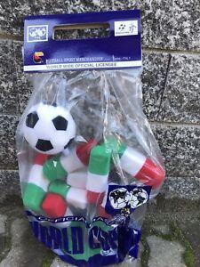 Rarissima mascotte Ciao mondiale di calcio Italia 90 nuova in busta 38 cm