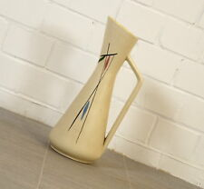70er J. Keramik Vase Blumenvase Amphore Tischvase Foreign 272 Vintage Pastell