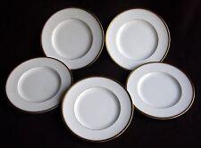 Royal Worcester VICEROY Bone China Dessert / SALAD Plates ~ Set of 5 ~ England