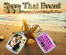 Save The Date Key chains - Multiples of 10