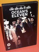 Ocean's Eleven DVD - George Clooney, Matt Damon, Brad Pitt, Julia Roberts