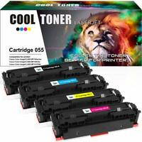 4 Pack No Chip for Canon 055 Toner imageClASS LBP660C MF740C MF741Cdw MF743Cdw