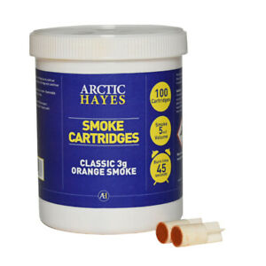3g Orange Smoke Cartridges (100)