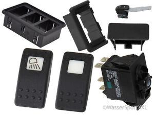 Carling Schalter V-Serie mit und ohne LED
