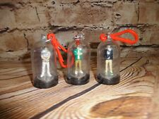 Rare One Direction Mini Figures Sealed Backpack Clips in Capsules 3 Pcs 1.5""