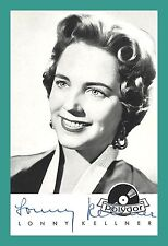 LONNY KELLNER | Schauspielerin | Original-Autogramm auf Polydor-Starkarte