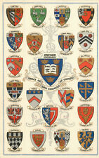 s12267 College Coats of Arms, Oxford postcard     *COMBINED SHIPPING*
