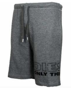 Diesel Only The Brave Shorts Grey Designer S M L Summer Joggers Knee Length