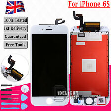 White for iPhone 6s LCD Display Touch Screen Digitizer Assembly Replacement UK