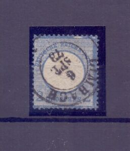 Deutsches Reich 1872 - MiNr 20 I Plattenfehler mit Foto-Befund Brugger (168)