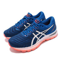 Asics Gel-Nimbus 22 Tuna Blue Silver Men Running Shoes Sneakers 1011A680-403