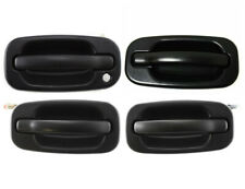 4pc NEW Outside Door Handles Set Black for 99-2006 Silverado Tahoe Sierra Yukon