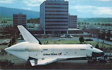 B71408 Enterprise passing marshall Space Flight Center Headqurters  USA