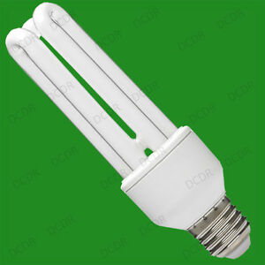 4x 20W Low Energy / Power Saving CFL Stick Light Bulbs ES E27 Edison Screw Lamps