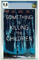 SOMETHING IS KILLING THE CHILDREN #1 GARANTEED CGC 9.8  FOIL VARIANT PREORDER