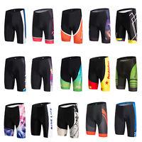 Men's Spandex Cycling Shorts Knickers Gel Padded Bike Bicycle Biking Shorts