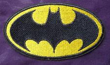 BATMAN PATCH BAT LOGO PATCH LARGE BATMAN VS. SUPERMAN DARK NIGHT GOTHAM