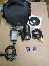 Sony DCR-SX85 Camcorder Video Camera w/Power Supply, Battery, Manual and SD Card