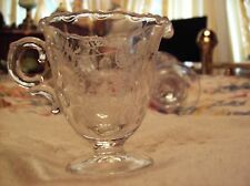 Fostoria Lacy Leaf Print #2630 on Century Blank Ind. Creamer Cream Pitcher Only