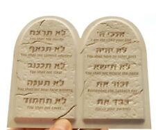 DECALOGUE 3D MAGNET Ten 10 Commandments Ark of Covenant Israel Torah Holy Bible