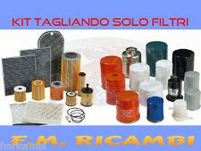 KIT TAGLIANDO SOLO FILTRI IVECO DAILY III 2.8JTD 92Kw DAL 06.2001 AL 04.2006