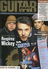 Guitar Part #118 -MICKEY 3D- Beatles,  Pleymo, Machine Head,... + CD exclusif