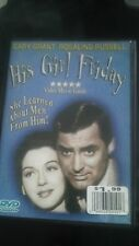 His Girl Friday 1940 DVD Cary Grant Rosalind Russell Ralph Bellamy Gene Lockhart