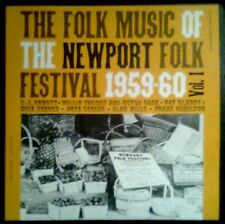 THE FOLK MUSIC Of The Newport Folk Festival 1959-60 Vol.1 - USA LP Folkways 1961