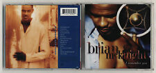 Cd BRIAN McKNIGHT I remember you – PERFETTO 1995 Rhythm & blues R&B Pop