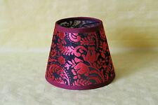 Lampenschirm  rot - schwarz   3314-6059