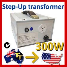 300 Watt Step Up Transformer 120 - 240v  Run Aussie Equipment in USA SUA110-300