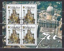 Gibraltar 2009 gestempelt Kleinbogen MNr. 1317 Liebe Frau von Europa Schutzpatro
