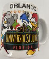 "VTG 1996 Universal Studios ""Orlando"" FL Coffee Mug Woody Woodpecker"