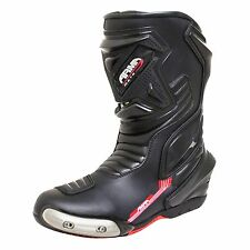 ARMR MOTO MOTEGI WP (NEW 2017) BLACK BOOTS UK9