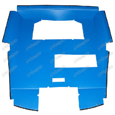FORD 2600 TO 8210 Q CAB PADDED ROOF CLOTH FITS 1976 - 1985 MODELS.