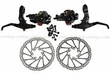 AVID BB7 Disc Brakes Set Front & Rear Calipers FR7 Brake Lever 160mm G3 Rotors