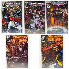 Transformers Armada 1, 2, 3 & War Within 1, 2 DW Comics 2002 Lot of 5