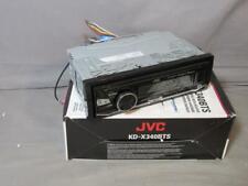 JVC KD-X340BTS Car Audio In-Dash Bluetooth AM/FM Radio Receiver