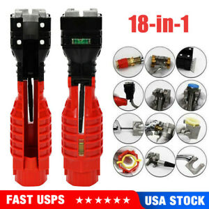Portable 18 In 1 Bathroom Faucet and Sink Installer Wrench Tools For Water Pipe