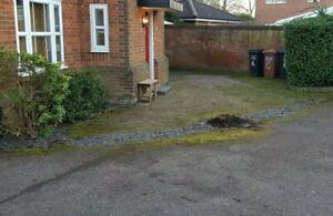 Used driveway block paving bricks apx 40m2