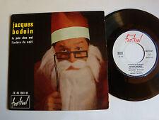 """JACQUES BODOIN: La paix chez moi / arbre de noel 7"""" rare EP FESTIVAL FX 45 1061"""