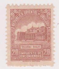 (UGA-196) 1946 Uruguay 20c Brown Parcel post (A)