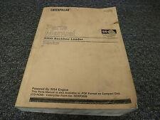 Caterpillar Cat 420D Backhoe Loader w 3054 Engine Parts Catalog Manual